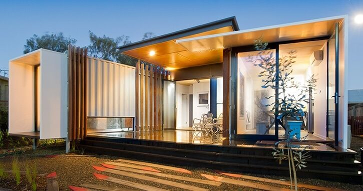 Container House Made In France Tweeqle Tiny Container Homes