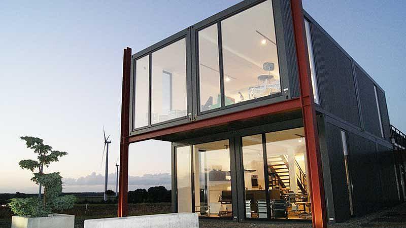 Containerhaus in Deutschland hergestellt