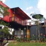 container house design land