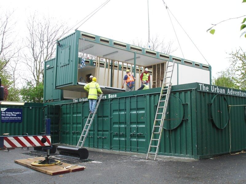 Container House made in UK -